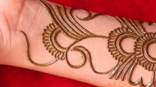 Bharma Full Hand Arabic Henna Mehndi Design | Latest Bridal Mehndi Design | New Dhulan Mehndi Design