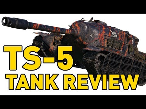 World of Tanks    TS-5 - Tank Review