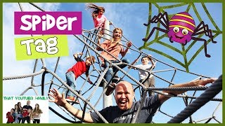 PLAYGROUND WARS! Spider Tag Playground Games  That YouTub3 Family I The Adventurers