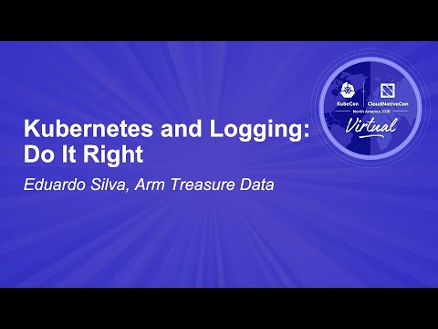 Image thumbnail for talk Kubernetes and Logging: Do It Right