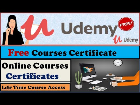 Udemy- Free Online Courses with Certificate of Completion - YouTube