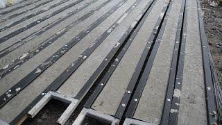 Как сделать бетонные столбики для винограда и забора.