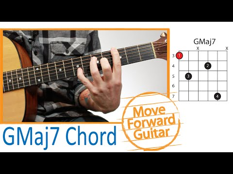 Guitar Chords – Moveable Major 7 Chord (GMaj7)