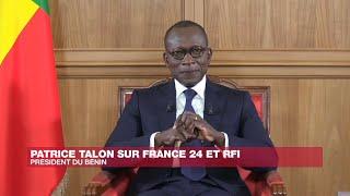 Le President béninois sur France 24
