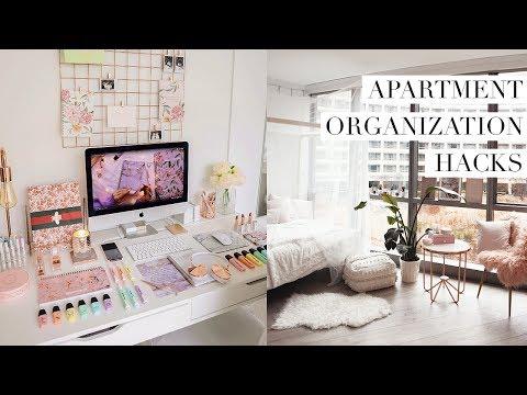 APARTMENT ORGANIZATION HACKS - keeping it clean & tidy ✨ Vlog #3
