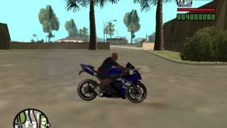 preview picture of video 'gta san andreas YAMAHA R1 tanıtım'
