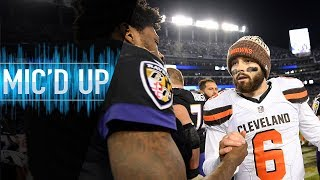It All Comes Down to This! (Browns vs. Ravens Mic'd Up) | NFL Films