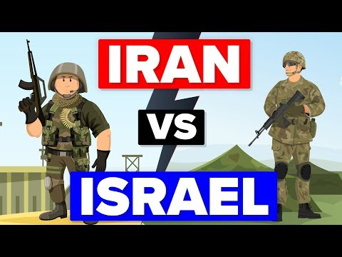 IRAN vs ISRAEL - Who Would Win - Military / Army Comparison