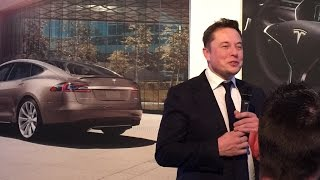Elon Musk in Paris 2016