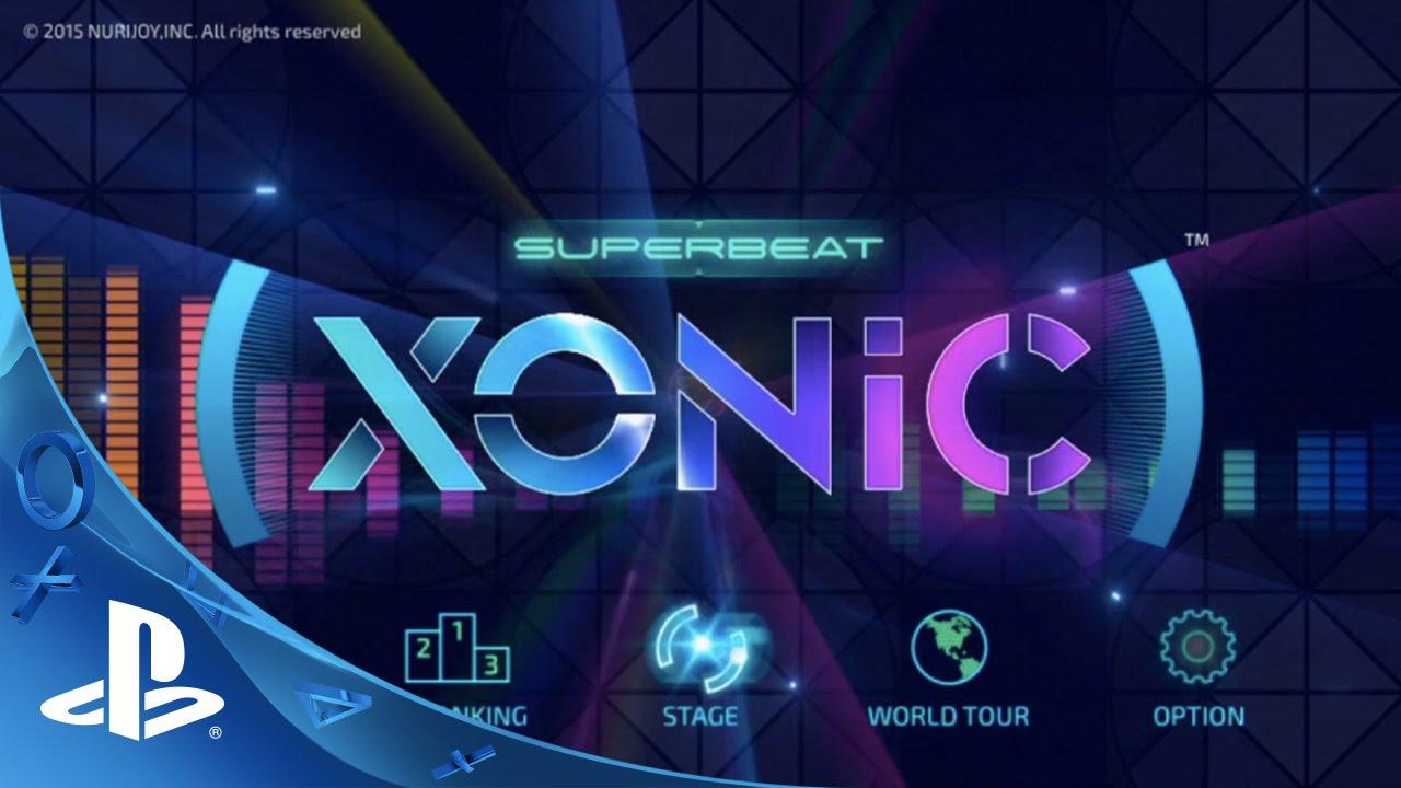 Superbeat: Xonic Coming to PS Vita November 10th