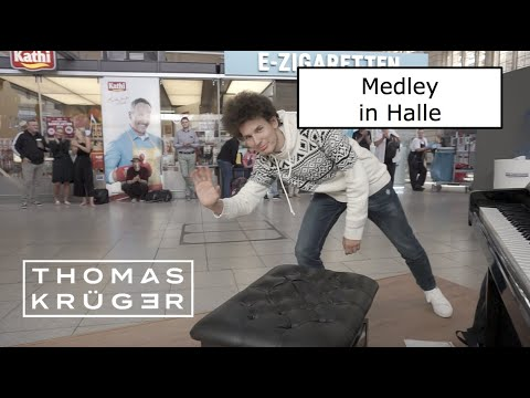AMAZING PIANO POP MEDLEY at Train Station Halle – THOMAS KRÜGER