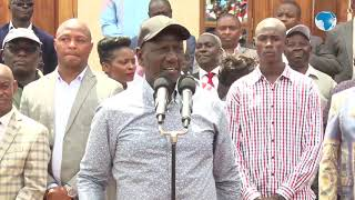 DP Ruto promises to resolve the water and road issues affecting