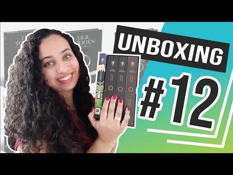 UNBOXING • Box Senhor dos anéis + Hobbit - J.R.R. Tolkien | Karina Nascimento | Paraíso dos Livros