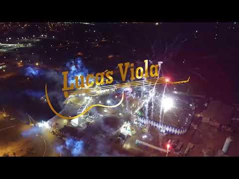 Lucas viola ao vivo em Araporã.