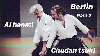 Aikido: Ai Hanmi Katate Dori Chudan Tsuki, Bruno Gonzalez Berlin Part 13