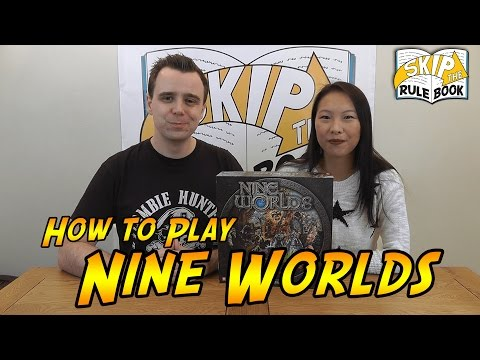 Nine Worlds - How to Play (Skip the Rulebook)