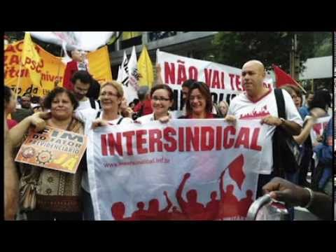 Intersindical presente nas ruas e nas lutas