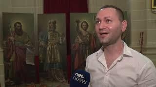 Inawgurati erba' pitturi ġodda fil-Parroċċa Marija Addolorata f'San Pawl il-Baħar
