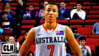 Dante Exum 2014 NBA Draft - 2013 Hoop Summit Highlights - 6'6 Australian Guard