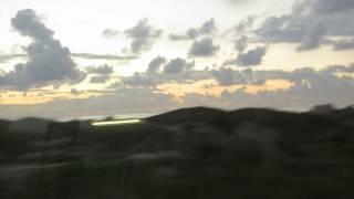 preview picture of video 'רגעים אחרונים של אור לאחר שקיעת השמש. חוף הים ביציאה מחיפה'