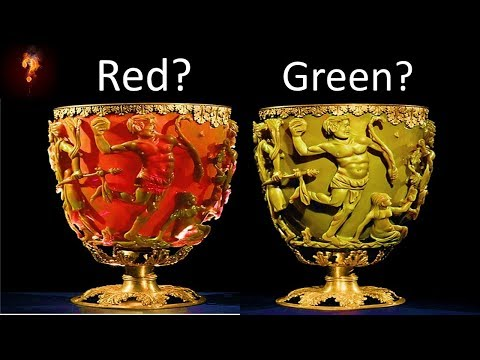 """Ancient Cup Made With """"Nano-Technology?"""""""