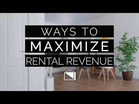 Ways to Maximize Your Rental Revenue