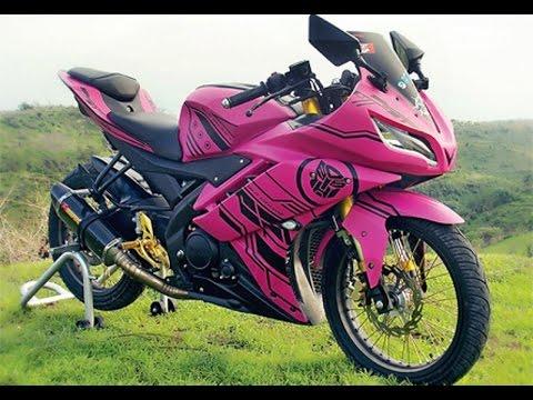 Video Cah Gagah | Video Modifikasi Motor Yamaha R15 Velg Jari-jari Keren Terbaru