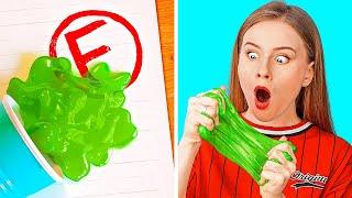 การแกล้งที่ทั้งตลกและไม่เป็นอันตรายกับคุณครูของคุณ! เคล็ดลับในโรงเรียนโดย 123GO! SCHOOL