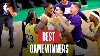 NBA's Game Winning Buzzer Beaters | 2018-19 Season | #TissotBuzzerBeater #ThisIsYourTime