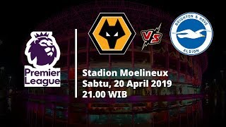 Video Live Streaming dan Jadwal Laga Wolves Vs Brighton Via MAXStream beIN Sport Sabtu (20/4)