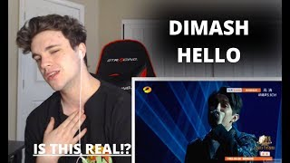DIMASH - HELLO - *SINGER 2018* EPISODE 14 (REACTION)
