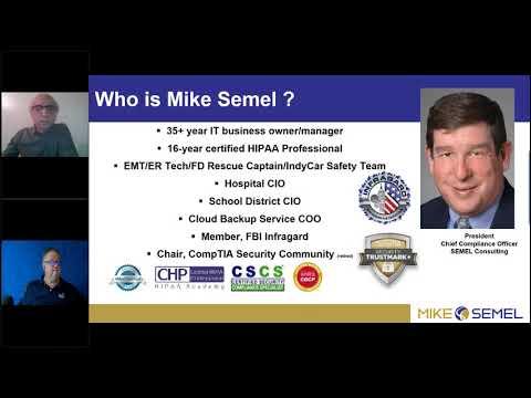 MSP Tech Talk Winter 2019 HIPAA Compliance - YouTube