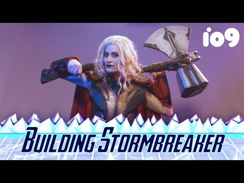 How to Build Thor's New Hammer, Step By Step | Cos/Play