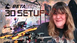 How To Setup 3D in BetaFlight & BLHeli ESC Tuning