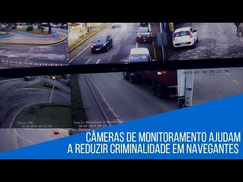 Investimentos na aquisição de câmeras e sistemas de monitoramento