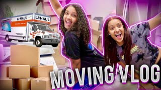MOVING VLOG: UNPACKING & ORGANIZING WITH FRIENDS!