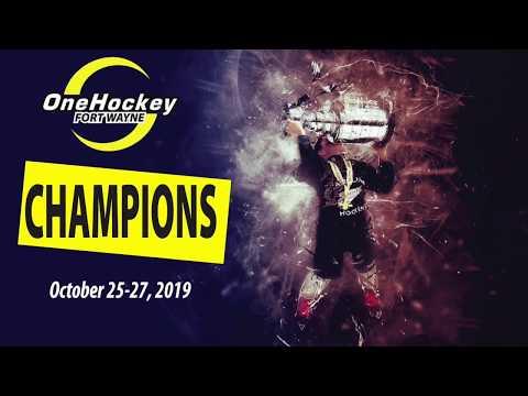 OneHockey FT WAYNE CHAMPIONS Oct 2019