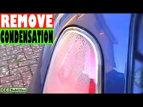 How to remove Condensation from Mini Tail Light R50 R53 2000-2006 First Generation