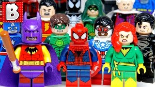 $10,000+ for 16 Lego Minifigures!!! Every Marvel & DC Comic Con Minifig Ever Made!!! Rare Collection
