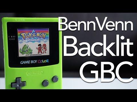 BennVenn Backlit Game Boy Color Mod