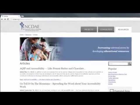 Identifying Web Accessibility Issues - YouTube