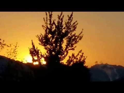 COOL OREGON SUMMER SOLSTICE SUNRISE