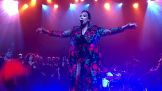 Demi Lovato   Tell Me You Love Me LIVE @ Simply Complicated World Premiere In LA (101117)