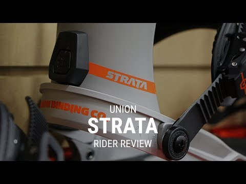 Union Strata 2019 Snowboard Bindings Rider Review – Tactics.com