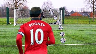 WAYNE ROONEY WORLD RECORD FOOTBALL CHALLENGE!!