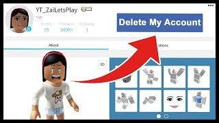 I HAVE TO DELETE MY ROBLOX ACCOUNT?!  - Roblox
