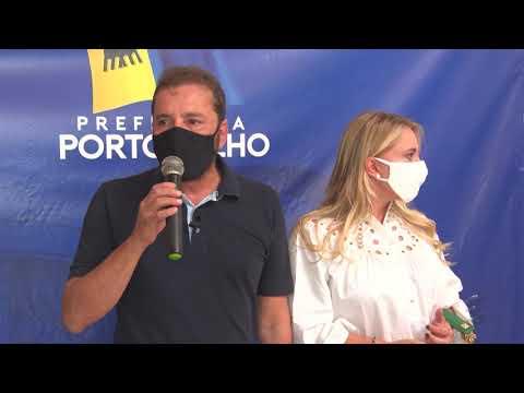 Prefeito Hildon Chaves é vacinado e faz lançamento da campanha Vacina Contra a Fome - Gente de Opinião