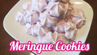 How To Make Meringue Cookies (Filipino Dessert, Pinoy Cooking, Filipino Recipe, Pagkaing Pinoy)