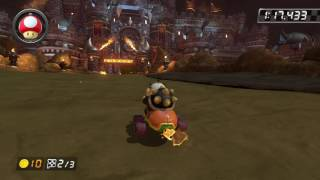 Bowser's Castle - 1:57.909 - sv¢ Rick (Mario Kart 8 World Record)