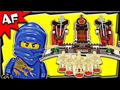 Vidéo LEGO Ninjago 2519 : Le bowling de squelettes